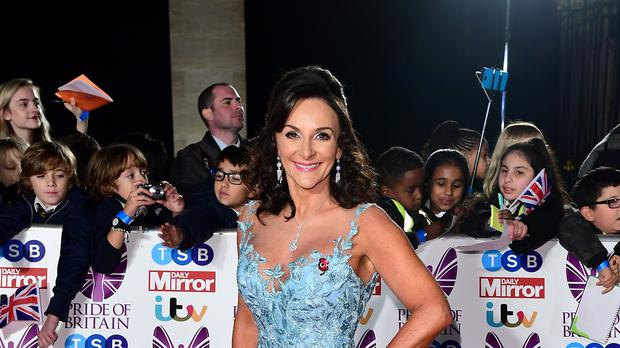 Strictly's Shirley Ballas attending The Pride of Britain Awards in 2017 (Ian West/PA)