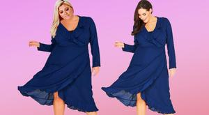 Gemma Collins' photoshop scandal. Pictures: Gemma Collins Collection/Fashion Book