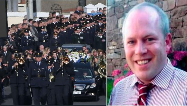 Garda Tony Golden was killed in October 2015 in Omeath, Co Louth