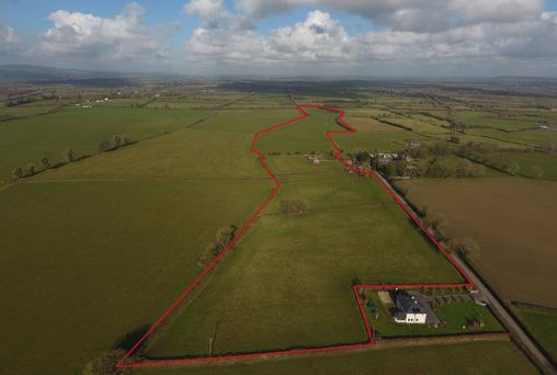 Farm at Clareen, Cashel described as a superb holding with good land and a single storey residence