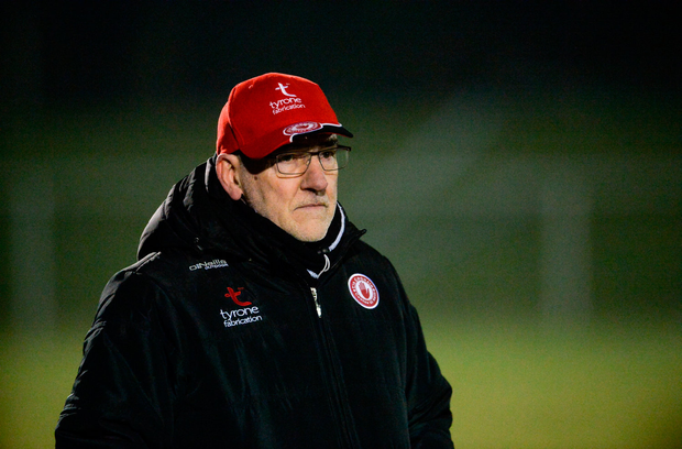 'NO' CAMPAIGN: Mickey Harte. Photo by Oliver McVeigh/Sportsfile