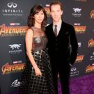 Sophie Hunter (L) and actor Benedict Cumberbatch attend the Los Angeles Global Premiere for Marvel Studios Avengers: Infinity War on April 23, 2018 in Hollywood, California. (Photo by Jesse Grant/Getty Images for Disney)