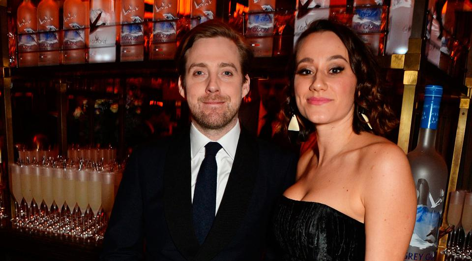Ricky Wilson (L) and Grace Zito attend BAFTA After Party l on February 14, 2016 in London, England. Photo by David M. Benett/Dave Benett/Getty Images for GREY GOOSE