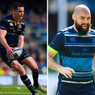 Johnny Sexton, Scott Fardy and Tadhg Furlong