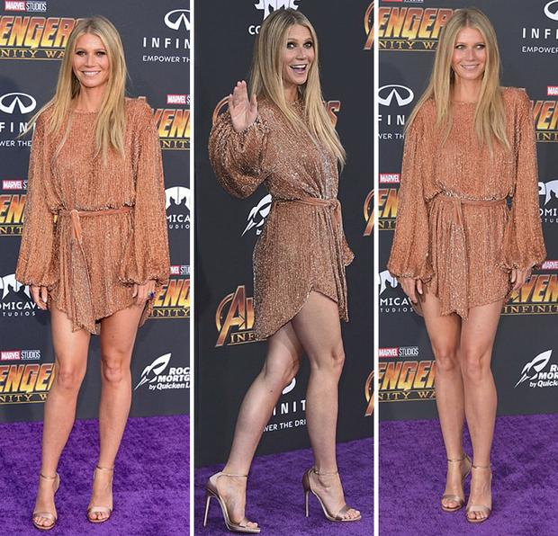 Gwyneth Paltrow at the Avengers: Infinity War premiere
