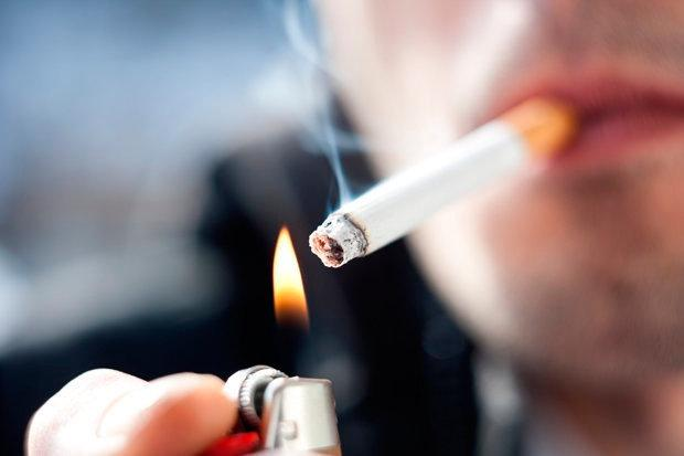 Senator James Reilly wants to ban smoking in outdoor areas that are serving food Stock Image