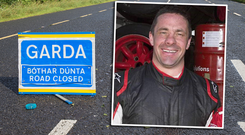 Donal O'Brien (45) was killed instantly when his bicycle struck by a car on the N40 South Ring Road near Curraheen, Cork