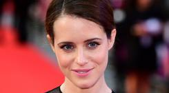 Claire Foy has talked about the pay gap on The Crown (PA)