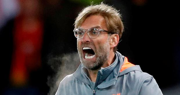Liverpool manager Jurgen Klopp (Action Images via Reuters/Carl Recine)