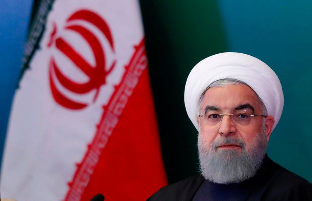 Iran President Hassan Rouhani. REUTERS/Danish Siddiqui/File Photo