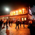 A view of The Albert pub on Walton Breck Road after the UEFA Champions League, Semi Final First Leg match at Anfield, Liverpool. PRESS ASSOCIATION Photo. Picture date: Tuesday April 24, 2018. See PA story SOCCER Liverpool. Photo credit should read: Peter Byrne/PA Wire