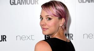 Kaley Cuoco plays Penny in the hit show (PA)
