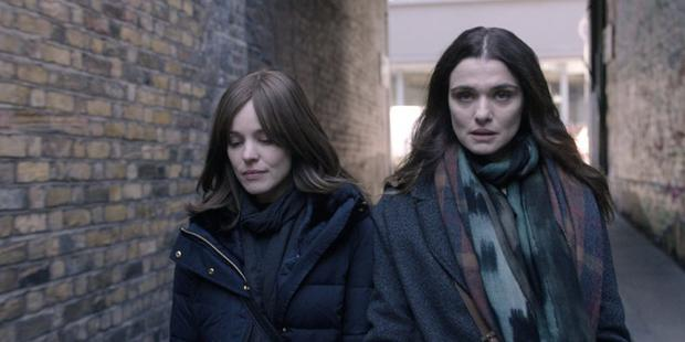 Rachel McAdams and Rachel Weisz in Disobedience