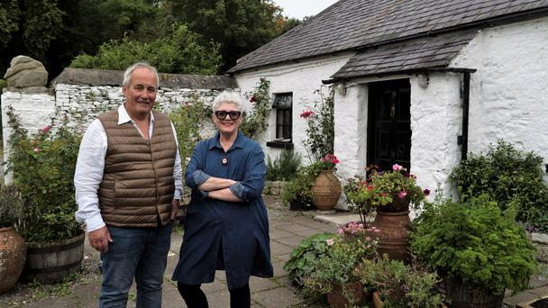 Home of the Year winners Ros and Patrick with their cottage