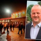 Victim has been named as 53-year-old Sean Cox from Dunboyne (inset)