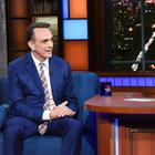 The Late Show with Stephen Colbert and guest Hank Azaria during Tuesday\'s April 24, 2018 show. Photo: Scott Kowalchyk/CBS