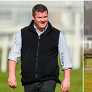 Gordon Elliott (left) and Willie Mullins (right).