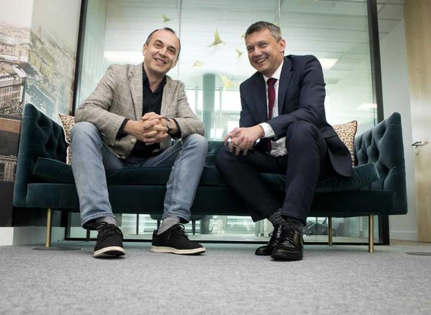 (L to R) Viktor Kovacevic, Vice President and General Manager, Comtrade Digital Services and Dejan Ćušić, Business Director of Comtrade Digital Services