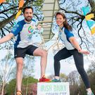 Minister Eoghan Murphy and world championship canoist Jenny Egan to launch this year's cycle Tour De Picnic. Photo: PAUL SHARP/SHARPPIX