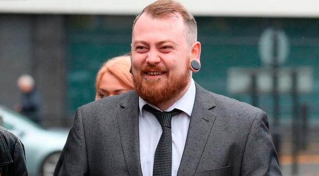 Mark Meechan, who was fined £800 for filming a pet dog giving Nazi salutes and posting the footage online