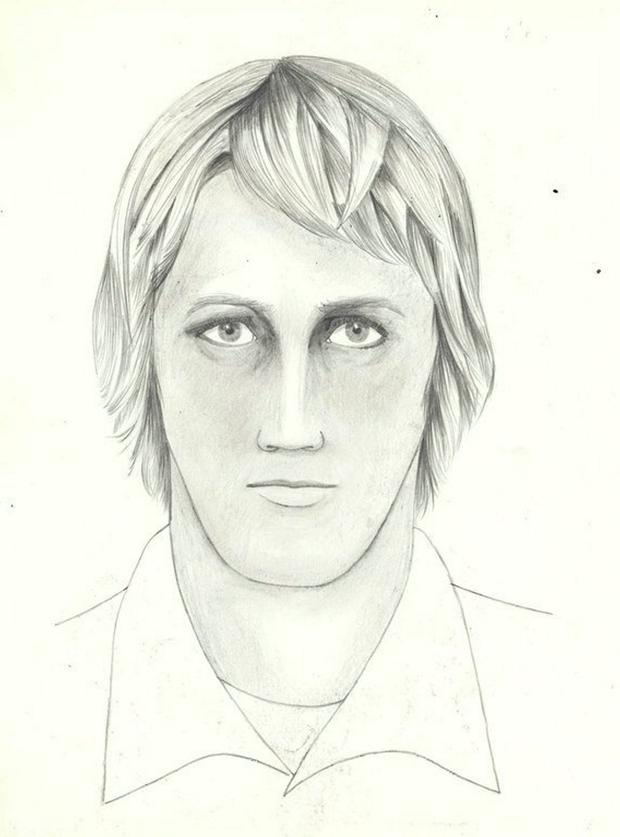 FILE PHOTO: The FBI sketch of the East Area Rapist/Golden State Killer