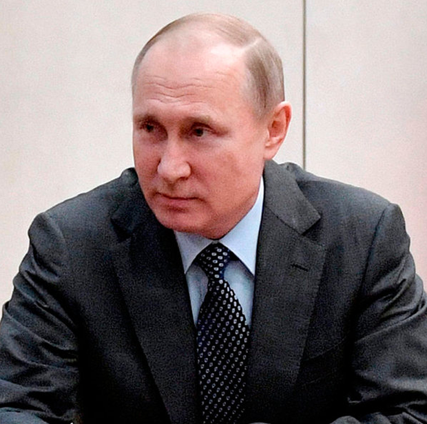 Russian President Vladimir Putin. Photo: AP