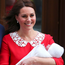 Kate with her third child. Photo: Reuters