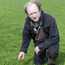 Riverstown farmer John Graham points to the poor quality grass in fields right now.
