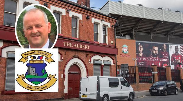 Sean Cox was attacked outside the Albert Pub before Liverpool's 5-2 win over Roma in Anfield