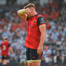 22 April 2018; Peter O'Mahony of Munster after the European Rugby Champions Cup semi-final match between Racing 92 and Munster Rugby at the Stade Chaban-Delmas in Bordeaux, France. Photo by Brendan Moran/Sportsfile