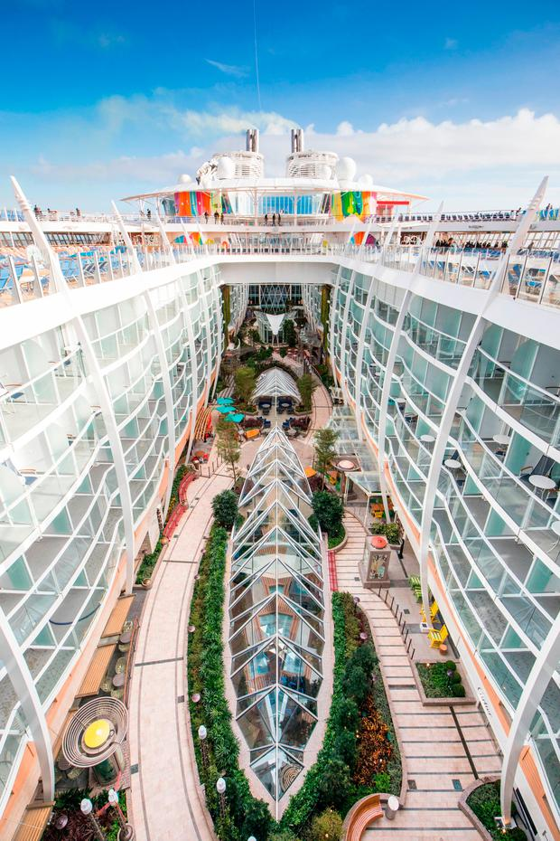 Symphony of the Seas, Royal Caribbean International's newest and largest ship