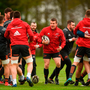 Mike Sherry during Munster Rugby squad training earliers this week. Photo: Diarmuid Greene/Sportsfile