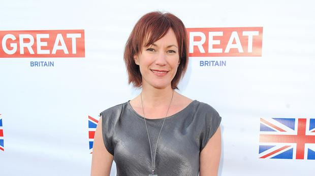 Tanya Franks plays former drug addict Rainie Cross (Ian West/PA)