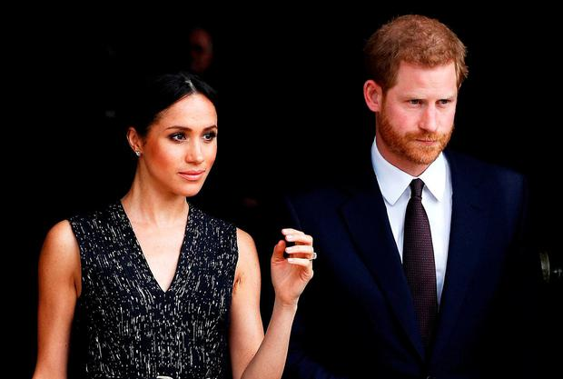 Prince Harry and his fiancee Meghan Markle. REUTERS/Peter Nicholls