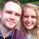Celé Brits, from Killarney, and Lawrence Mason are getting married at a venue 20 minutes down the road from where Prince Harry and Meghan Markle will tie the knot on the same day