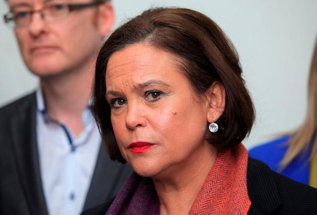 Sinn Féin leader Mary Lou McDonald. Photo: Gareth Chaney, Collins
