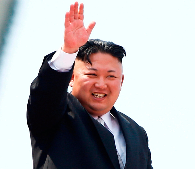 North leader Kim Jong-un. Photo: Reuters