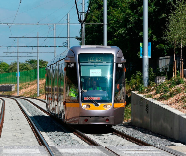 The Cross City tram will be extended to Finglas by 2027