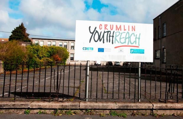 Caleb Nolan collapsed outside the Youthreach centre in Crumlin