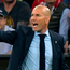 Zinedine Zidane looks on from the technical area during Real Madrid's victory against Bayern Munich. Photo: Getty Images