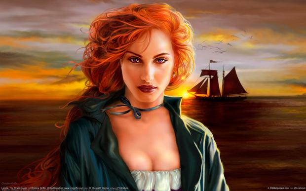 Pirate queen Grace O'Malley
