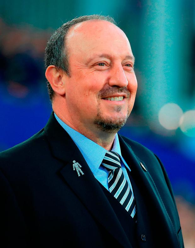 WANTED: Rafa Benitez. Photo: Peter Byrne/PA