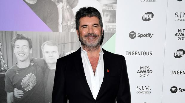 Simon Cowell told the pair it 'reminded me a bit of my boy' (Ian West/PA)