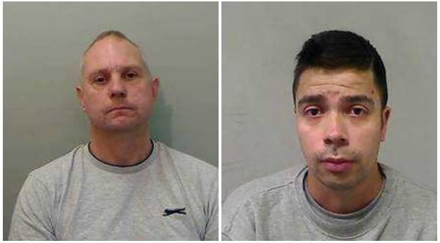 Police appeal over wanted men James White and Alexis Guesto