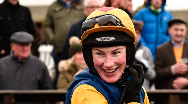 Nina Carberry joins sister-in-law Katie Walsh in retirement after signing off with Punchestown winner