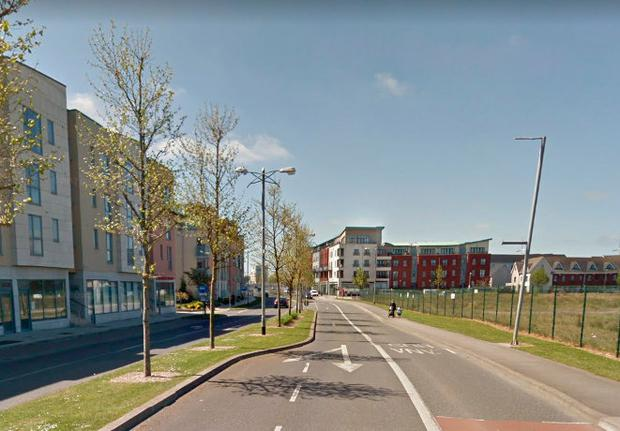 A cash-in-transit van was robbed on Clongriffin's Main Street today Photo: Google Maps