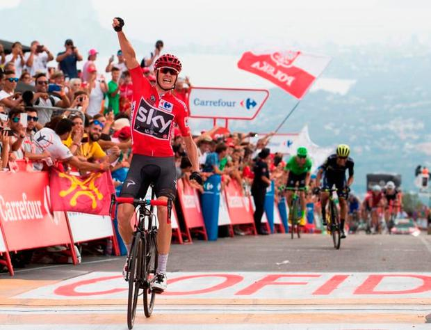 Chris Froome is bidding for a unique triple crown of Grand Tour wins. Photo: Getty Images
