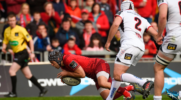 Ulster's Pro14 play-off hopes over after Thomond Park stalemate with Munster