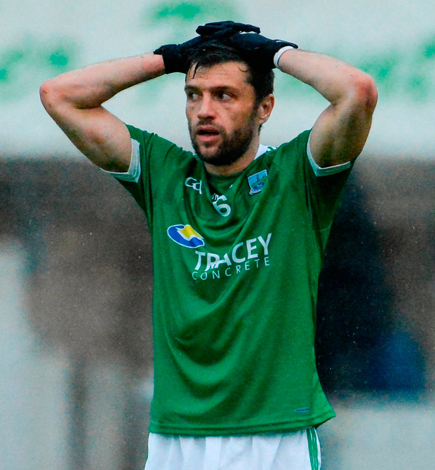 Ryan McCluskey, nearing 37, is preparing for an 18th season. Photo: Oliver McVeigh/Sportsfile