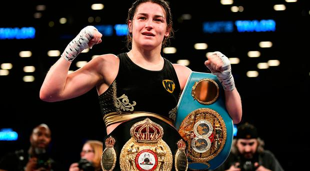 Katie Taylor unifies world lightweight titles after 'tough contest' in NY